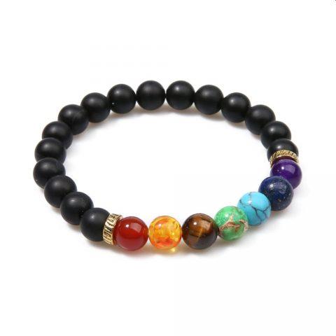 7 Chakra Yoga bracelet